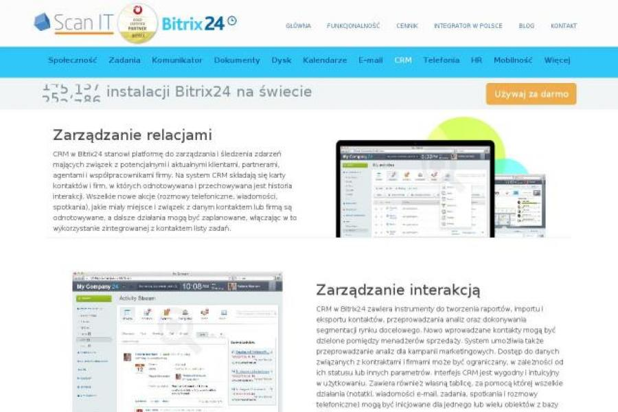 CRM on-line